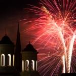 Clustered Spires Fireworks